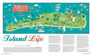 Where Is Amelia Island Florida On The Map by I Draw Maps Amelia Island Map For Jacksonville Magazine