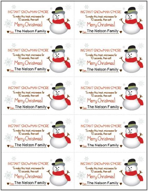 printable snowman gift tags tag printable images gallery category page 29 printablee com