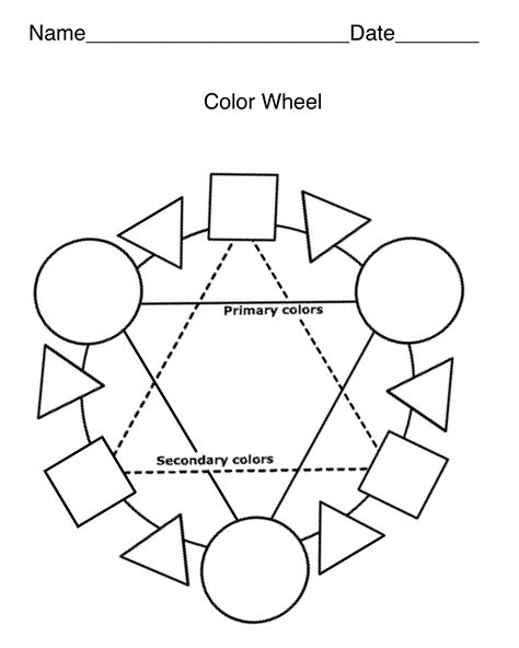 coloring pages color wheel free printable color wheel 36 coloring sheets gianfreda net