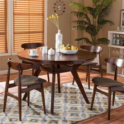 Light Wood Kitchen Table Light Brown Wood Kitchen Dining Tables Kitchen Dining Room Furniture The Home Depot