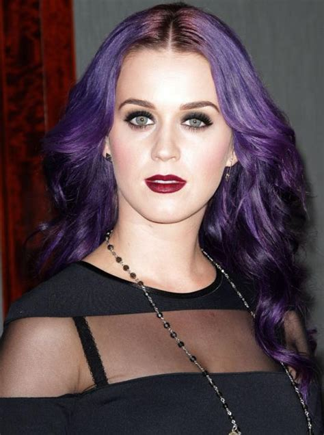 purple celbrity hair celebrities with purple hair hairstylegalleries com