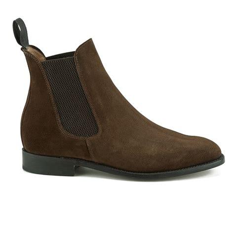 Kickers Boots Morris sanders s marylebone suede chelsea boots snuff