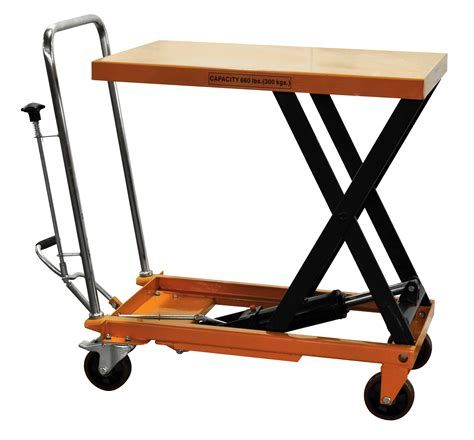hydraulic scissor lift table hydraulic scissor lift table cart 660 lb tf30