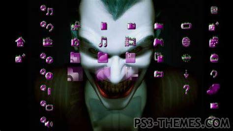 download themes joker ps3 themes 187 joker