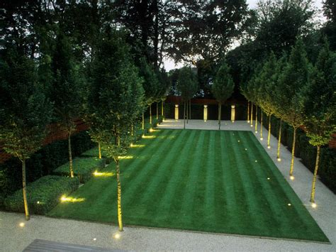 Quot Power Gardening Quot Opulence And Restraint In Your Formal Landscape Lighting Design Ideas