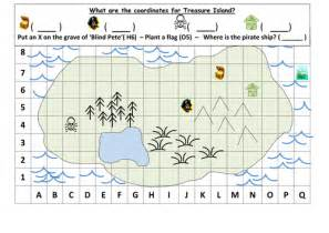 Treasure Map Template Ks1 by Co Ordinates Treasure Map Ks1 By Mrdhenshaw Teaching
