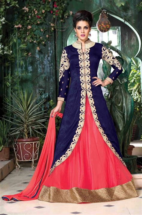Bungalie Maxi buy designer gowns new york blue pink indian gown fashion indian
