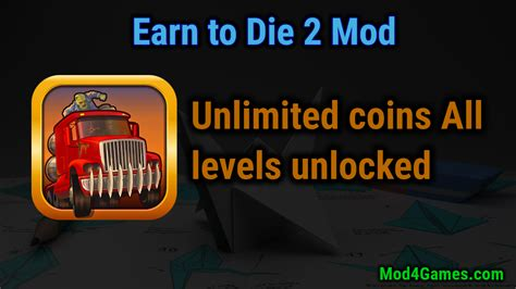 earn to die 2 hacked apk earn to die 2 mod unlimited coins all levels unlocked with obb data mod4games