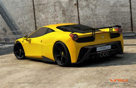 ferrari yellow car ferrari 458 italia yellow hd desktop wallpapers 4k hd