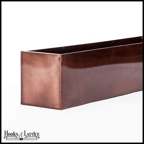 bronze window boxes bronze planter box liners planter boxes hooks lattice