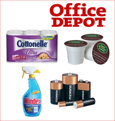 Office Depot Coupons Free Gifts Office Depot 10 30 Coupon Free 5 Via Wrapp