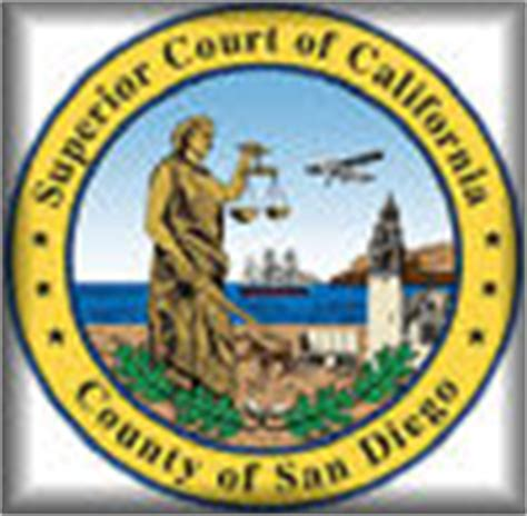 County Of San Diego Superior Court Search Links References