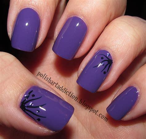 Easy Nail Art Using Nail Polish | polish art addict mira simple nail art