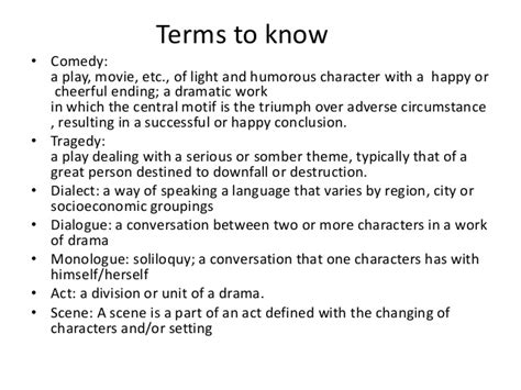 theme definition theatre arits intro and drama definition