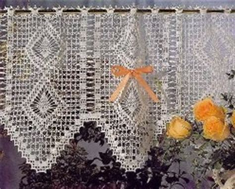 free kitchen curtain patterns free crocheting patterns filet crochet curtains