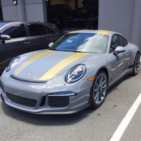 porsche nardo grey nardo grey porsche 911 r with matching wheels comes from