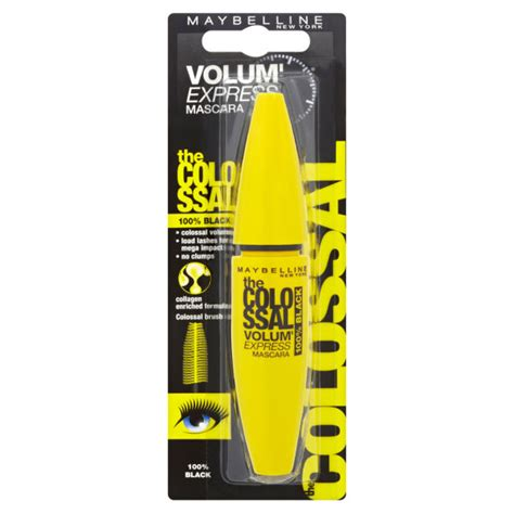 Maybelline New York Mascara maybelline new york colossal volum express mascara 100