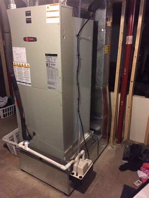 trane comfort solutions trane electric furnace return ducting condensation