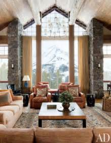 ski and mountain homes refined by decorative rugs 22