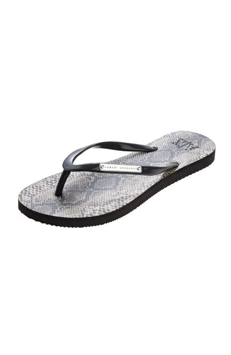 armani exchange slippers armani exchange flip flop armani shoes
