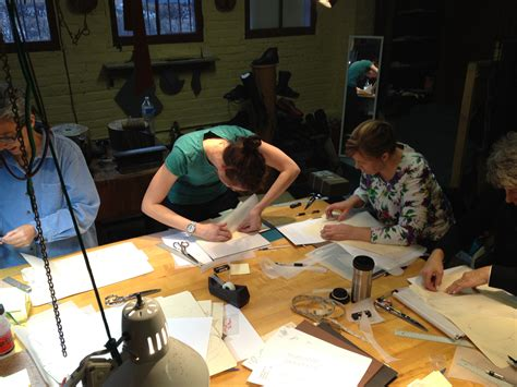 pattern maker classes pattern making shoes chicago school of shoemaking