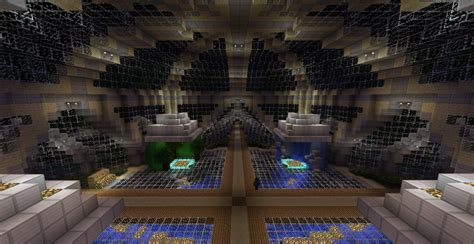 server spawn portal room minecraft project