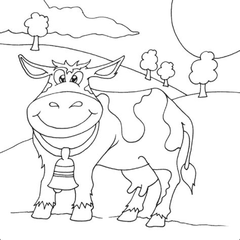 cow bell coloring page cow coloring photos images bloguez com