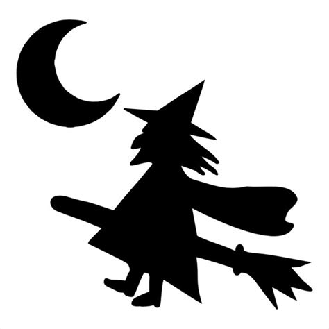 best photos of halloween witch stencils printable