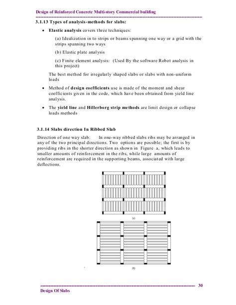 design criteria for commercial buildings design and analysis of reinforced concrete multistory