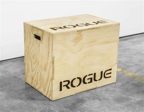 rogue crossfit competition wood plyobox