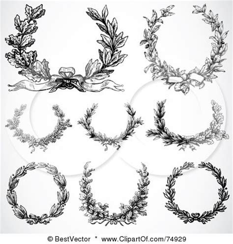 rose wreath tattoo 17 best ideas about wreath on laurel