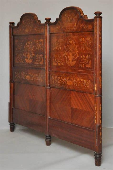 dutch headboard 18th century dutch marquetry king size headboard for sale