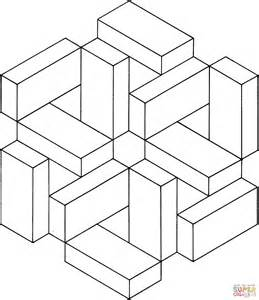 coloring pages illusions optical illusion 7 coloring page free printable coloring