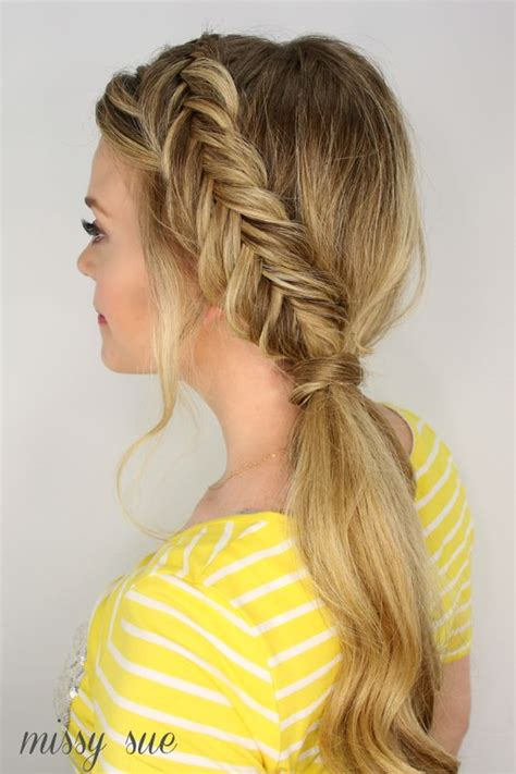 low maintenance hair care guide for of fishtail braid and fishtail