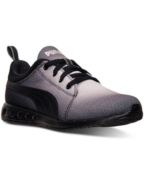 Sneaker N05 Line Cc s carson runner radial fade casual sneakers from finish line in gray for lyst
