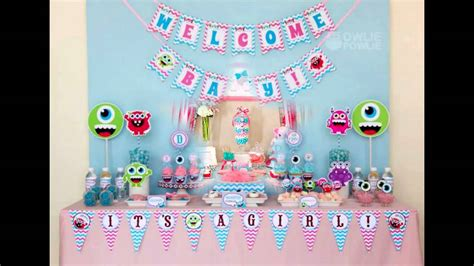 Girly Baby Shower Theme Ideas by Girly Baby Shower Themes