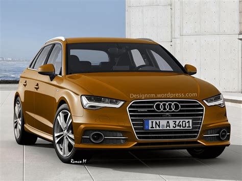 Facelift Audi A3 by 2016 Audi A3 Facelift Rendered With New Matrix Led