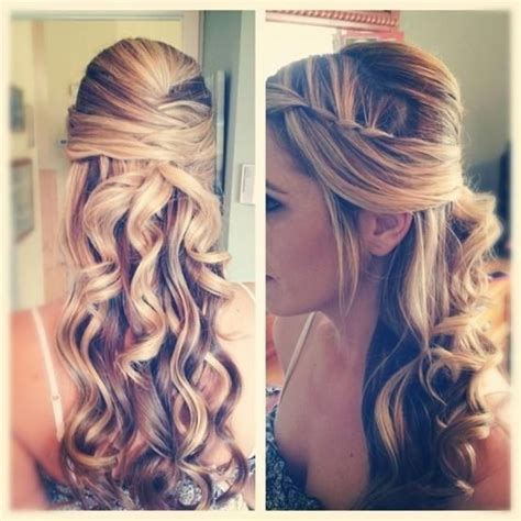 half up hairstyles for long hair video gallery