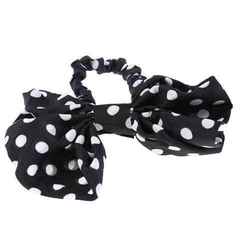 Chiffon Bow Hair Band korean rabbit ear bow ribbon chiffon headband hair