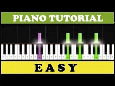 tutorial piano como zaqueo tres canciones f 225 ciles para piano synthesia youtube