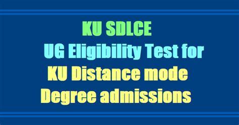 Tamucc Mba Review by Ku Sdlce Ug Eligibility Test 2018 For Ku Distance Degree