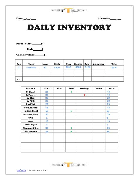 daily flow template excel annual financial report template masir
