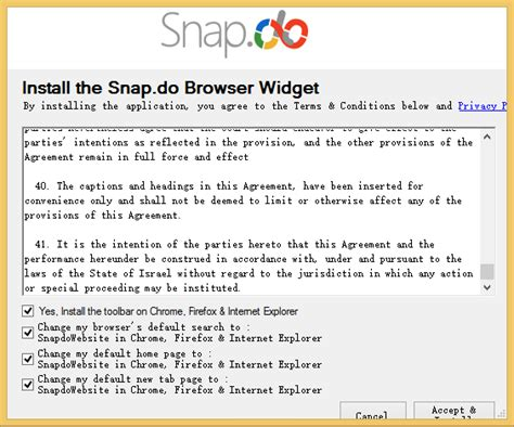 how to remove snap do and search snap do completely