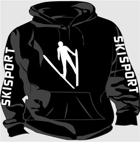 Produk Mutif 9 kapuzen sweatshirt skisport motiv 9 flexi design