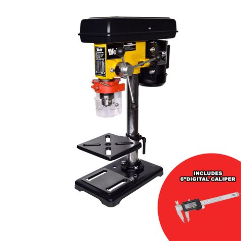 bench mounted pillar drill wolf pillar drill press bench top mounted drilling 9 speed