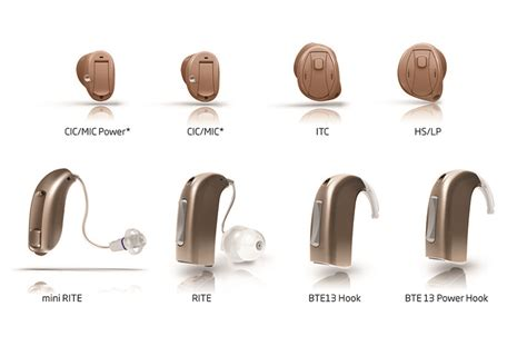 hearing aid types types of hearing aids audiology of nassau county