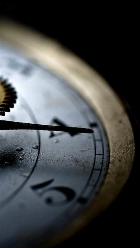 black background clocks close  time machine wallpaper