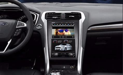 vertical screen android navi  ford fusion mondeo