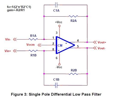 differential lifier capacitor caf a differential op circuit collection parte ii