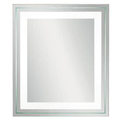 kichler bathroom mirrors kichler lighting 78201 cfl bathroom mirror atg stores